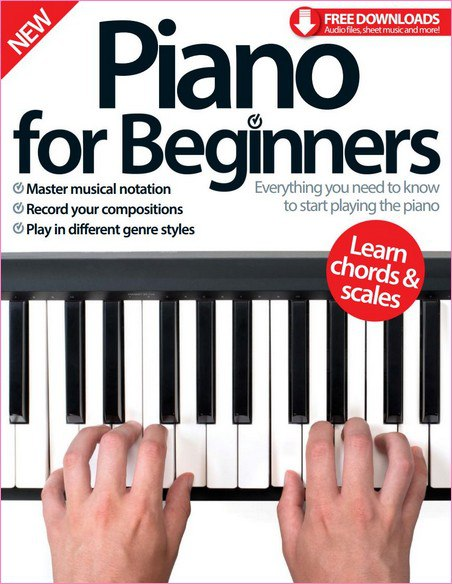 Piano For Beginners 5th ED - 2016  UK