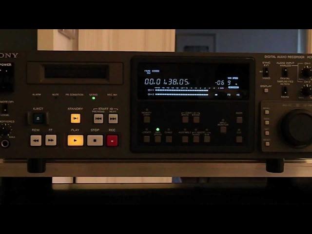 SONY DAT PCM-7030.mov