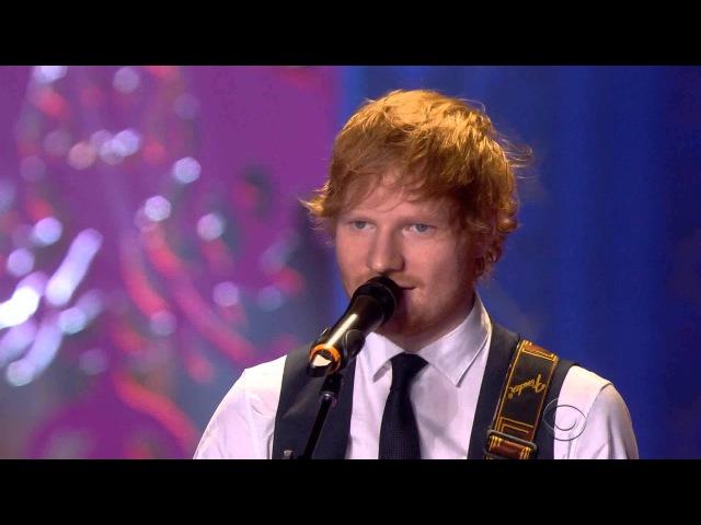Ed Sheeran live at the Victoria's Secret » Freewka.com - Смотреть онлайн в хорощем качестве