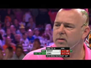 Adrian Lewis v Peter Wright (PDC World Matchplay 2016 / Quarterfinal)