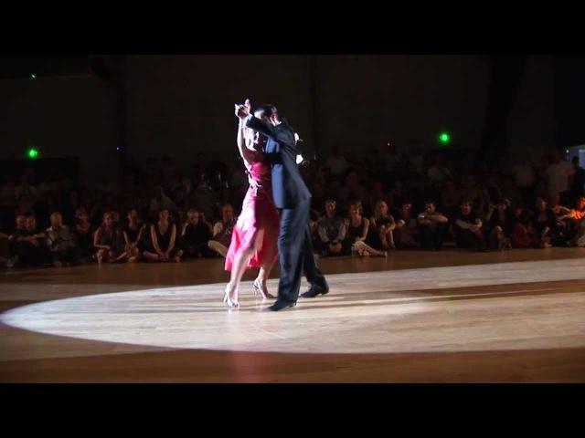 Gisela Passi et Rodrigo Rufino Festival Tango St GENIEZ d'OLT 2012