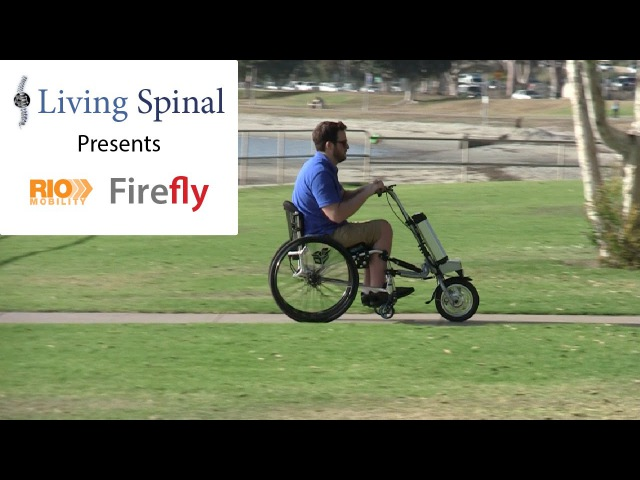 Firefly Electric Handcycle for Wheelchairs