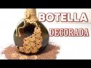 Botella decorativa ideal para regalar DECORATIVE BOTTLE
