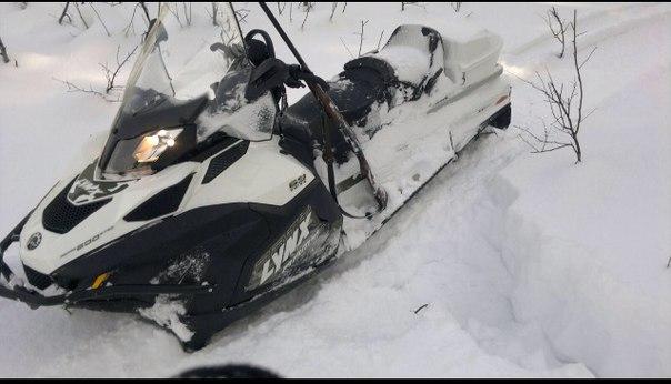 шипы на снегоход фото рай