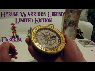 Unboxing Hyrule Warriors Legends - Limited Edition