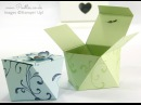Faceted Gift Box Tutorial using Stampin' Up Everything Eleanor