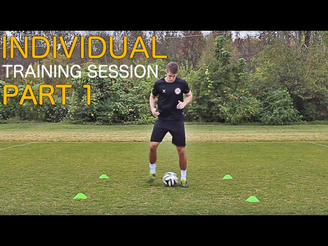 TRAIN LIKE A PRO Individual Training Session Part 1 Improve Footwork Fast