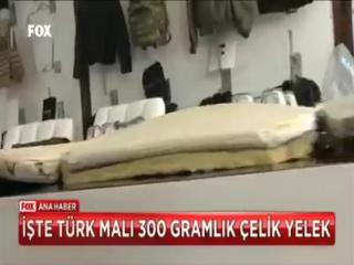Türk muhəndislərinin mükəmməl əl işi.. Gullə keçirməz od ilə yanmaz..