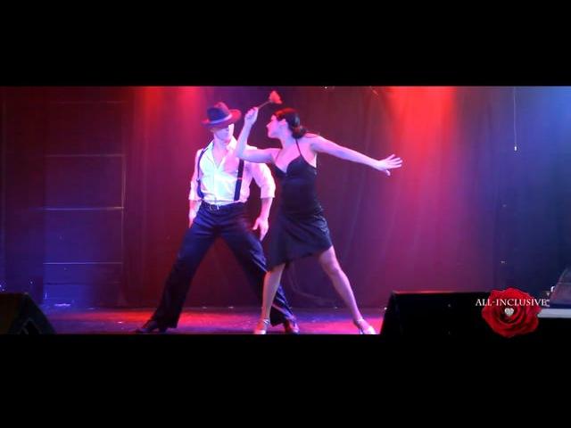 Танцевально-акробатический дуэт All-Inclusive. Vinkstudio
