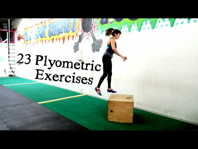 Plyometric exercises - 23 Plyo Variations