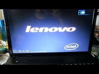 Lenovo G570-зависает при загрузке