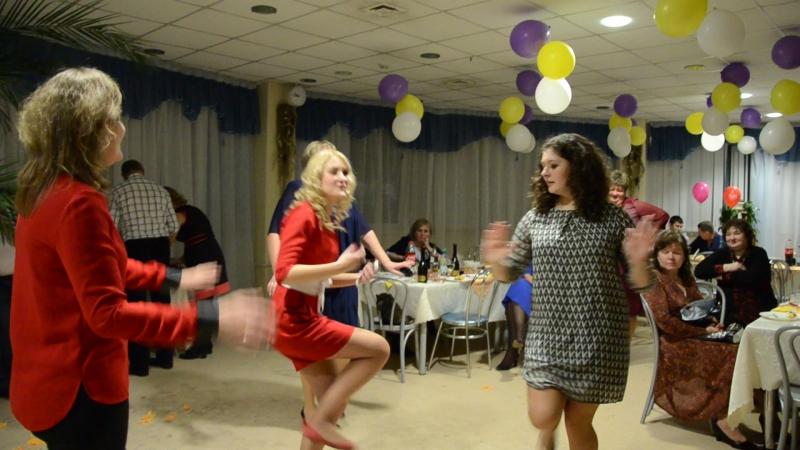 Мега отжигательные танцы на юбилее очаровательной Валентины