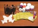 Посылки из Китая Женская бижутерия,Тинт для губ,Набор для наращивания ногтей,Набор кистей