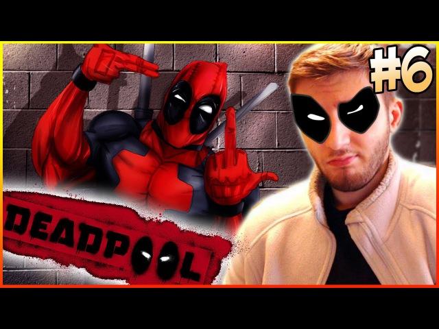 Дэдпул Deadpool Смешное Прохождение игры на русском Ищем РОУГ из ЛЮДИ ИКС Часть 6 1080p 60fps игры