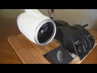 Homemade Electric Jet Engine Working Model (1:24 scale) Part 2