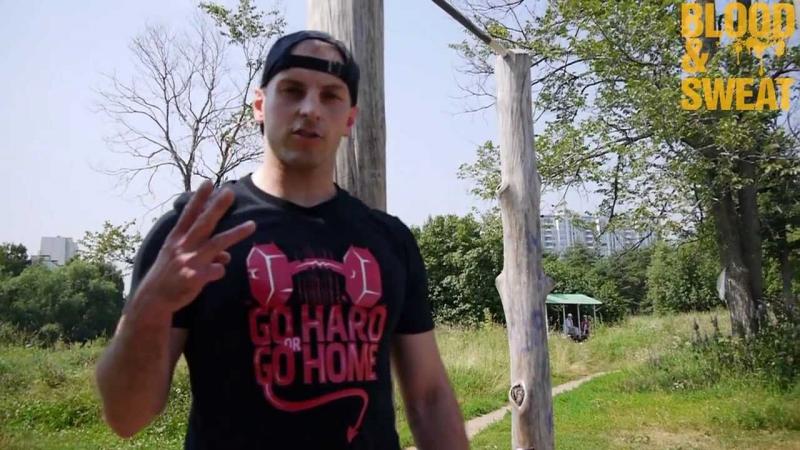 Тренировка выносливости для MMA Максим Хилюк