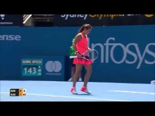 Kerber v Kasatkina Match Highlights (R2) | Apia International Sydney 2017