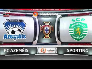 Liga SportZone   16/17   jornada 12   Futsal Azeméis 3-4 Sporting CP