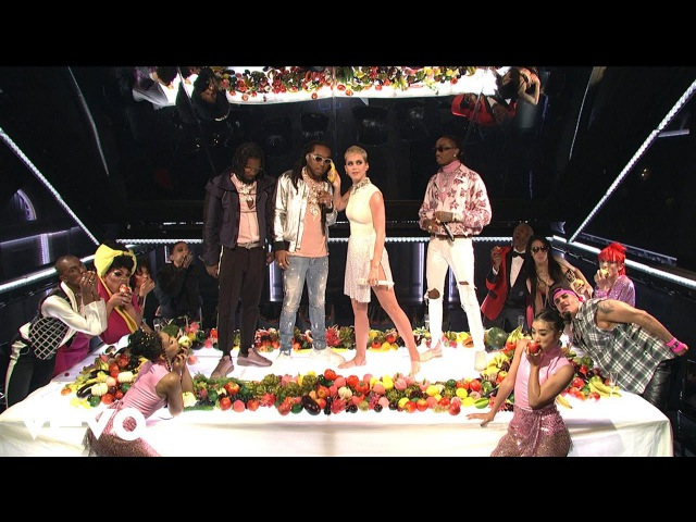Katy Perry Bon App tit Live on SNL ft. Migos