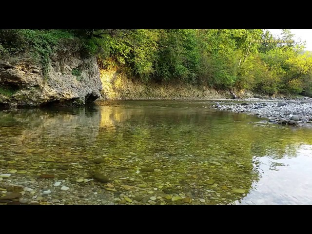 Relaxing Nature Sounds River Noise and water sound for deep sleep 8 hours
