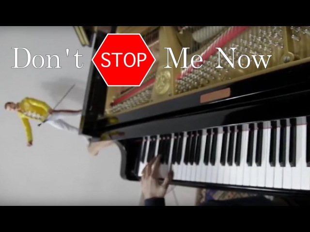 QUEEN Don't Stop Me Now ♫ ♫ ♫ HD Piano Cover play by Ear by Fabrizio Spaggiari Aka Jazzy Fabbry