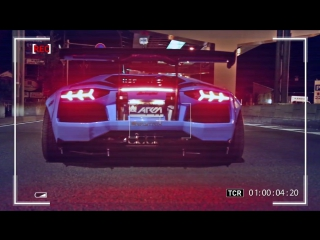 INSANE FLAMES! Lamborghini Aventador LP720-4 Ft. Liberty Walk-Armytrix-Airrex-Forgiato