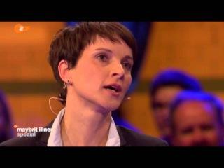 Katja Kipping grillt Frauke Petry