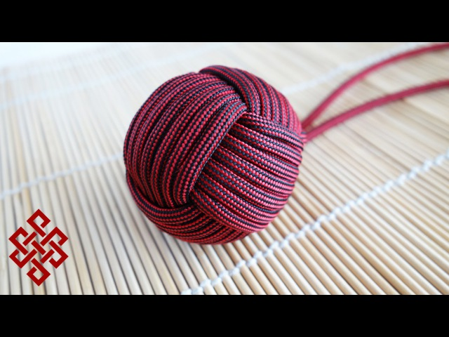 How to Tie a Large Monkey's Fist with DIY Jig (1.5, 7 Passes) Tutorial