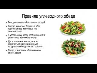 Урок 15. Сам себе кулинар  меню на день