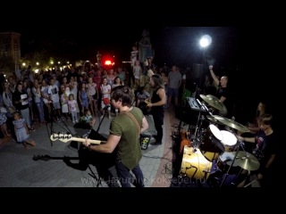 Рок группа Курага Севастополь в Коктебеле возле Волошина