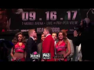IT'S A WRAP! CANELO AND GOLOVKIN FACE OFF IN LOS ANGELES ENDING THEIR CITY TO CITY TOUR