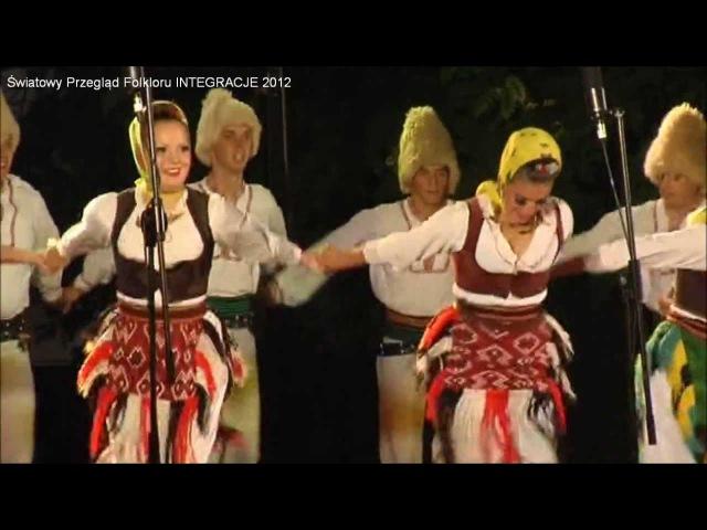 Światowy Przegląd Folkloru INTEGRACJE 2012 - KUD Abrašević Čačak, SERBIA (3)