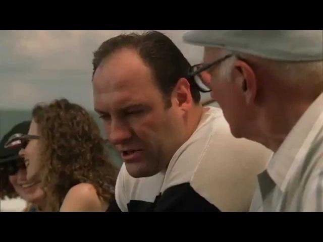 Тони и Джуниор Трудные переговоры Вынос мозга Клан Сопрано