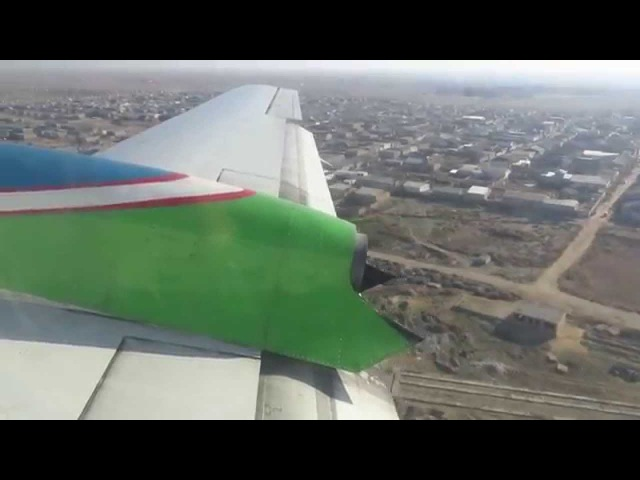 Uzbekistan Airways Il-114-100 - Flight from Tashkent Yuzhny (TAS) to Nukus (NCU), Uzbekistan