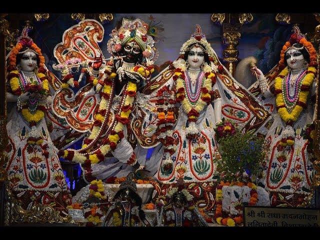 ISKCON Global Srila Prabhupada Disappearance Special Deity Darshan