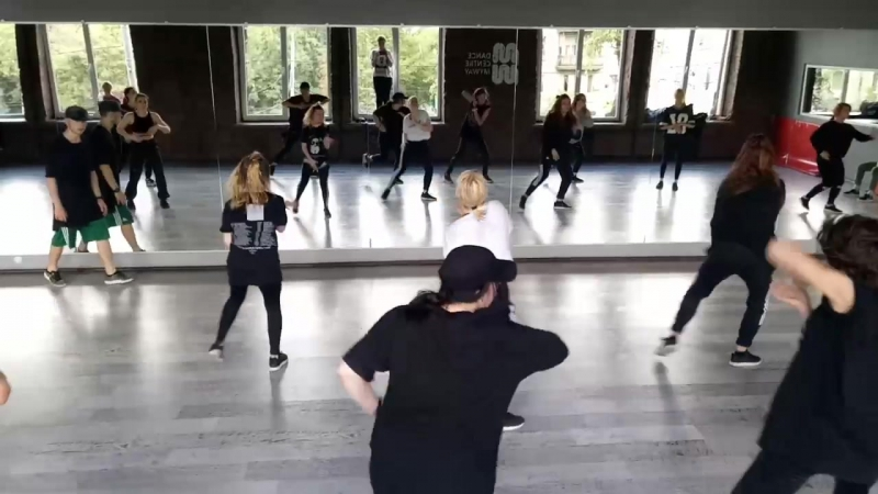Choreography by Andrey Sidorko Chris Brown sel