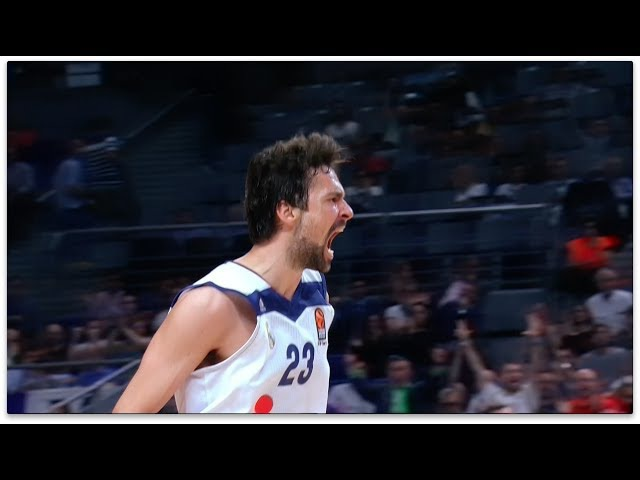 2016 17 Turkish Airlines EuroLeague MVP Sergio Llull Real Madrid