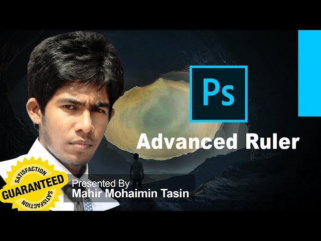 Adobe Photoshop CC Beginner How to Use Ruler in Photoshop Bangla Mahir Mohaimin Tasin