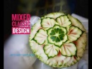 Mixed classic design in watermelon carving (แกะสลักแตงโม) l by chef namtarn
