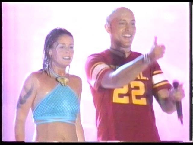 Aqua Roses Are Red Barbie Girl Live No Playback World Dance Music Sevilla Spain. 1997