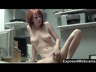 Gorgeous weird busty redhead young beauty zoey nixon solo masturbation