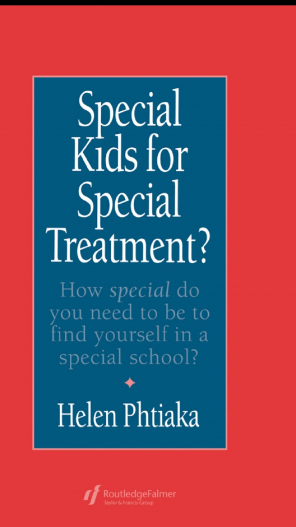Special Kids For Special Treatment