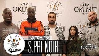 NOIR (Masque Blanc, égérie adidas, Sneazzy, Agathe Auproux...) #LaSauce sur OKLM Radio  {OKLM TV}