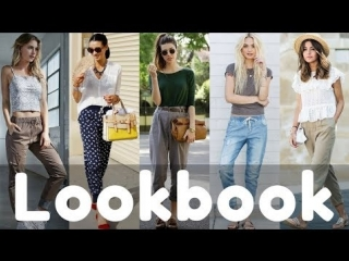 Latest summer jogger pants outfits | fashion lookbook 2018 | summer outfit ideas