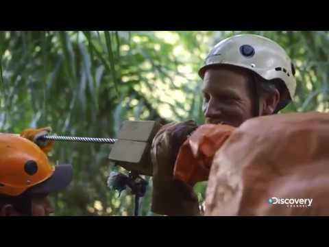 В поисках сокровищ змеиный остров сезон 2 серия 12 Горная тарзанка