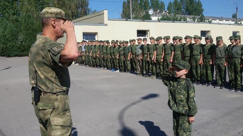 Доклад младшего командира отряда 459 летней смены Антитеррор Вектор мужества 18 Волгоград