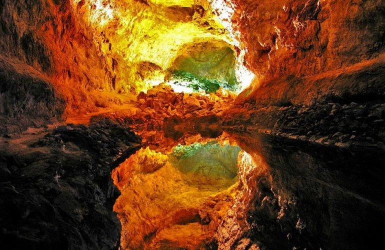 Пещера Куэва-де-Лос-Вердес, изображение №5
