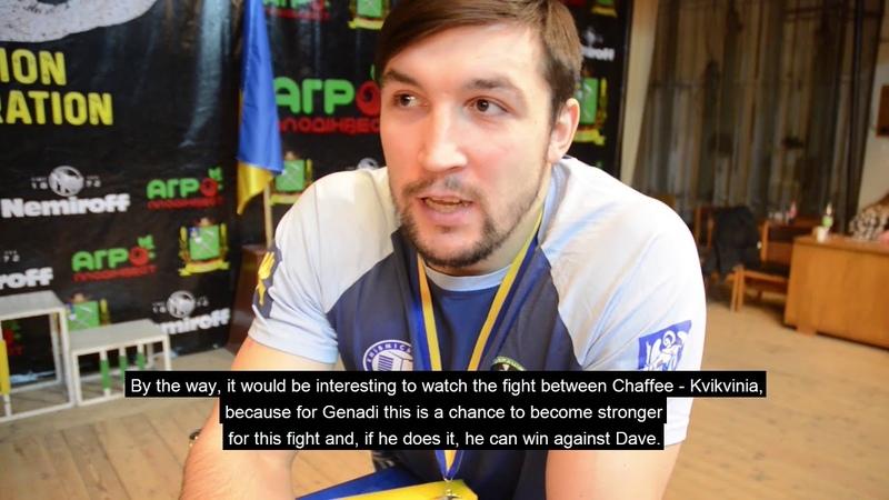 Armfight 50 - I. Prudnyk about Kvikvinia vs Chaffee