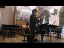 Бетховен Соната для скрипки и фортепиано № 9 Крейцерова исп Фёдор Безносиков Анна Тамаркина