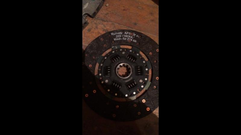 Сцепление на МКПП BMW GS5-39DZ (диск сцепления УАЗ толстый вал)